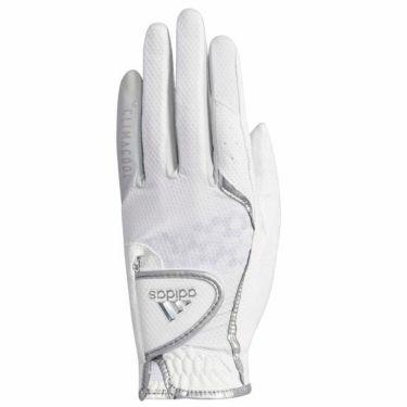 アディダス adidas クライマクール19 レディース シングル ゴルフグローブ XA256-CL0655 ホワイト/シルバー