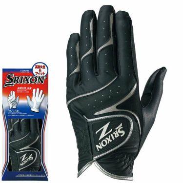 ダンロップ SRIXON スリクソン 高耐久性&フィット メンズ ゴルフグローブ GGG-S016 ブラック