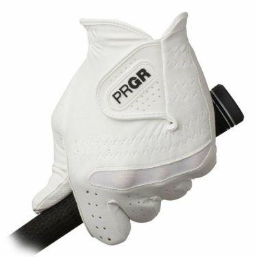 プロギア PRGR 全天候型 メンズ ゴルフグローブ PG-219 WW ホワイト×ホワイト