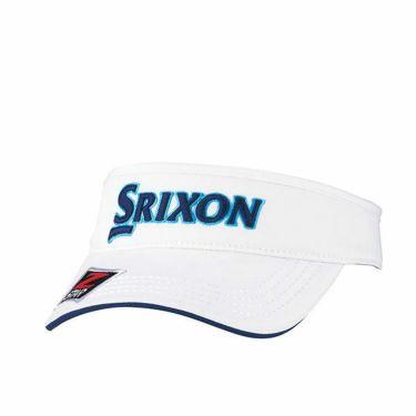 ダンロップ SRIXON スリクソン ツアープロ着用 メンズ オートフォーカス バイザー SMH9331X ホワイトネイビー