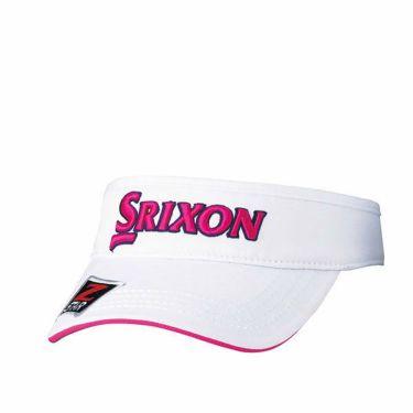 ダンロップ SRIXON スリクソン ツアープロ着用 メンズ オートフォーカス バイザー SMH9331X ホワイトピンク 商品詳細2