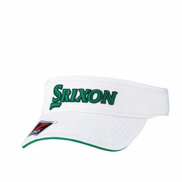 ダンロップ SRIXON スリクソン ツアープロ着用 メンズ オートフォーカス バイザー SMH9331X ホワイトグリーン