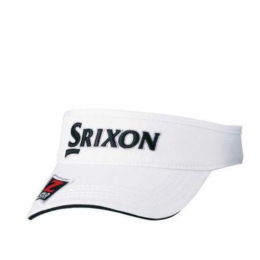 ダンロップ SRIXON スリクソン ツアープロ着用 メンズ オートフォーカス バイザー SMH9331X ホワイトブラック