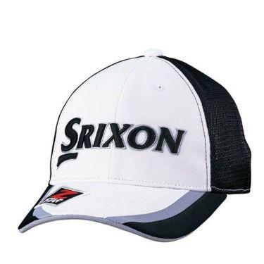 ダンロップ SRIXON スリクソン ツアープロ着用 メンズ オートフォーカス 水冷 メッシュ キャップ SMH9133X ホワイト 商品詳細2