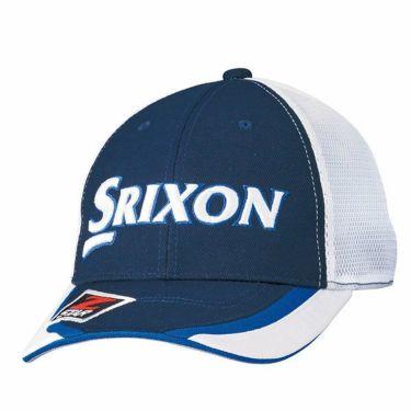 ダンロップ SRIXON スリクソン ツアープロ着用 メンズ オートフォーカス 水冷 メッシュ キャップ SMH9133X ネイビー 商品詳細2