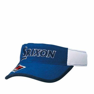 ダンロップ SRIXON スリクソン ツアープロ着用 メンズ オートフォーカス メッシュ バイザー SMH9343X ブルー