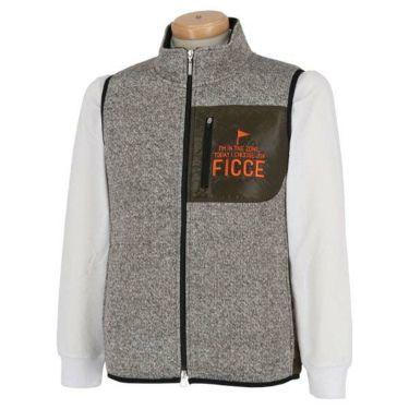 フィッチェゴルフ FICCE GOLF メンズ フリース フルジップ ベスト 271603 商品詳細2