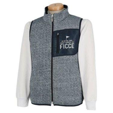 フィッチェゴルフ FICCE GOLF メンズ フリース フルジップ ベスト 271603 商品詳細4