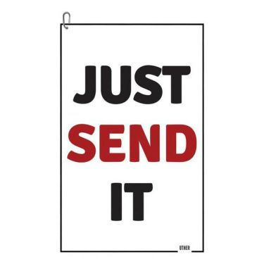 UTHER ゴルフ カートタオル ジャストセンドイット Just Send It JSI 070021500168
