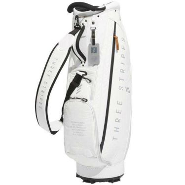 アディダス adidas ADICROSS CADDIE BAG アディクロス メンズ キャディバッグ HFF74 CL6470 ホワイト 2019年モデル