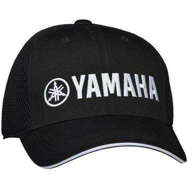 ヤマハ オールシーズンメッシュ キャップ Y20CP-BKW ブラック×ホワイト