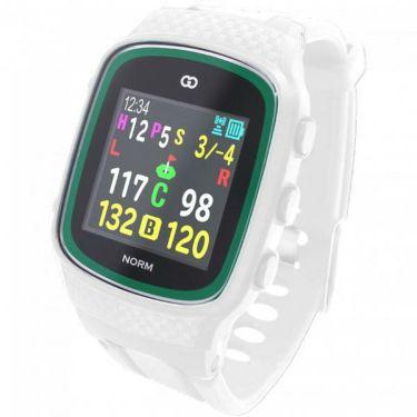 グリーンオン ザ・ゴルフウォッチ ノルム THE GOLF WATCH NORM 腕時計型 GPSゴルフナビ ホワイト G015W