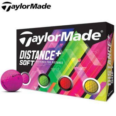 テーラーメイド DISTANCE+ SOFT ディスタンス プラス ソフト ネオンカラー ゴルフボール 1ダース(12球入り)