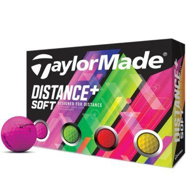 テーラーメイド DISTANCE+ SOFT ディスタンス プラス ソフト ネオンカラー ゴルフボール 1ダース(12球入り) 商品詳細2