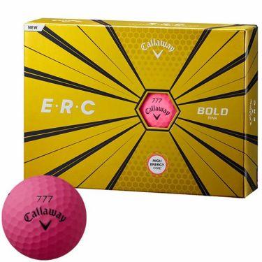 キャロウェイ E・R・C ゴルフボール 2019年モデル ボールドピンク 1ダース(12球入り)