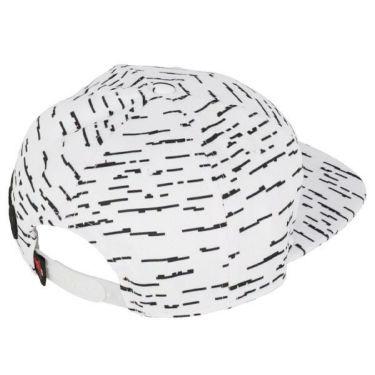 ニューバランスゴルフ メンズ ピクセルボーダー柄 SPORT フラットブリム キャップ 012-9287003 030 ホワイト 2019年モデル 商品詳細2