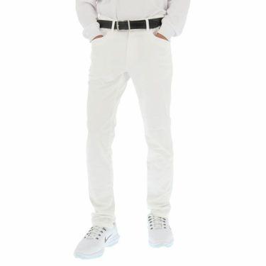 ニューバランスゴルフ メンズ ストレッチ ツイル スリムフィット ロングパンツ 012-9231011 2019年モデル [裾上げ対応1●] ホワイト(030)