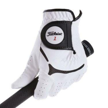 タイトリスト Titleist メンズ スーパーグリップ ゴルフグローブ TG39 WT ホワイト