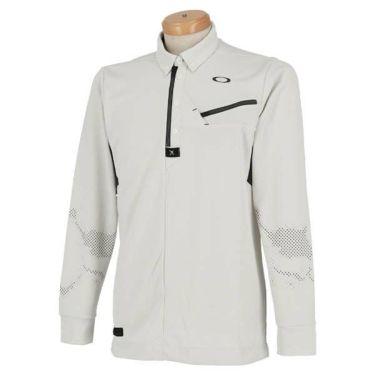 オークリー OAKLEY メンズ SKULL ボタンダウン 長袖 ハーフジップ ポロシャツ 434484JP 2019年モデル 商品詳細3