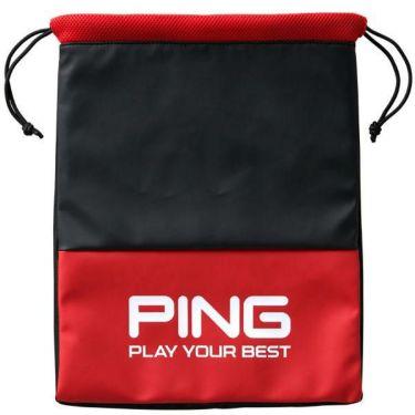 ピン PING メンズ シューズバッグ GB-U195 34861-03 RED