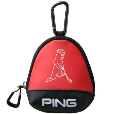 ピン PING メンズ ボールケース GB-U196 34862-03 RED