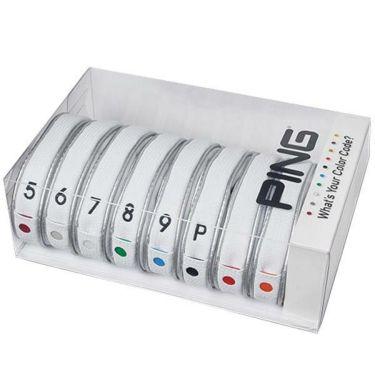 ピン PING カラーコード アイアンカバー セット HC-C191 34549-01 WHITE