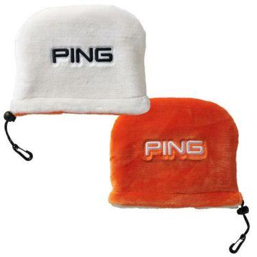 ピン PING リバーシブル ボア アイアンカバー HC-C192 34871-01 WHITE/ORANGE