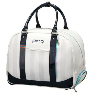 ピン PING ローラー付き レディース ボストンバッグ GB-L193 34865-02 WHITE/MINT