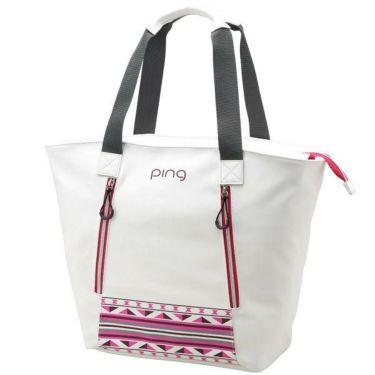 ピン PING レディース トートバッグ GB-L191 34863-01 WHITE/PINK