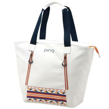 ピン PING レディース トートバッグ GB-L191 34863-03 WHITE/ORANGE