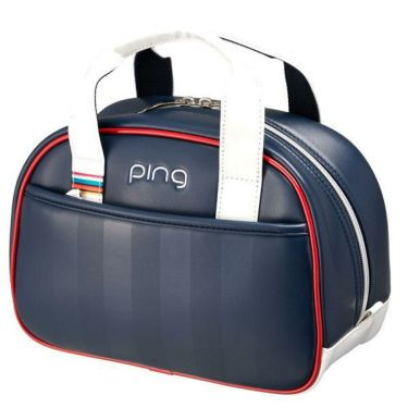 ピン PING レディース ラウンドポーチ GB-L194 34866-03 NAVY