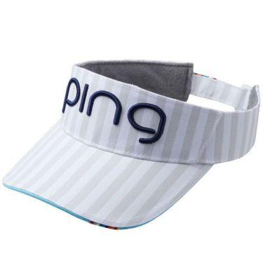 ピン PING レディース サンバイザー HW-L192 34879-01 WHITE