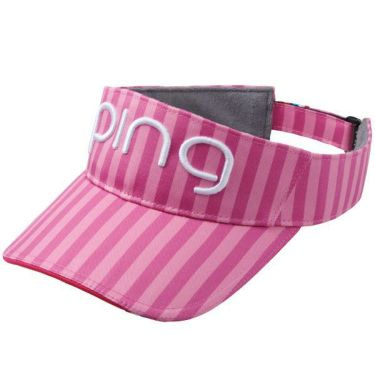 ピン PING レディース サンバイザー HW-L192 34879-03 PINK