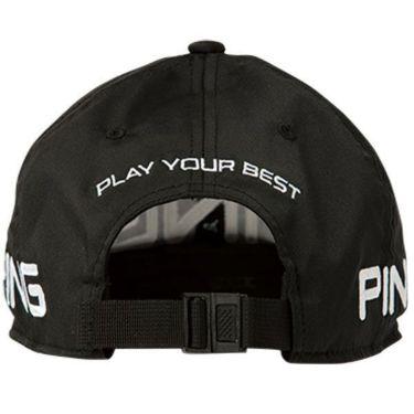 ピン PING メンズ 6パネル アンストラクチャー ツアー P.Y.B キャップ 33850-02 BLACK/WHITE 商品詳細2