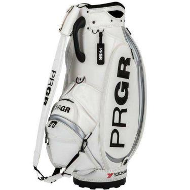 PRGR プロギア スポーツモデル 契約プロ使用 メンズ キャディバッグ PRCB-201 W ホワイト