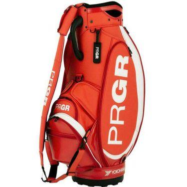PRGR プロギア スポーツモデル 契約プロ使用 メンズ キャディバッグ PRCB-201 OR オレンジレッド