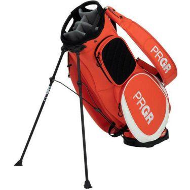 PRGR プロギア スポーツモデル スタンド付き メンズ キャディバッグ PRCB-203 OR オレンジレッド
