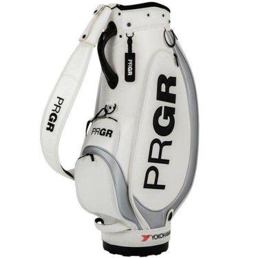 PRGR プロギア スポーツモデル ベーシック メンズ キャディバッグ PRCB-204 W ホワイト