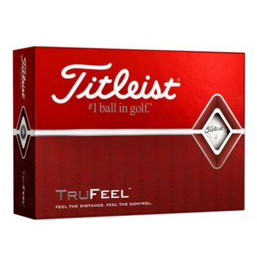 タイトリスト TRUFEEL トゥルーフィール ゴルフボール ホワイト 1ダース(12球入り)