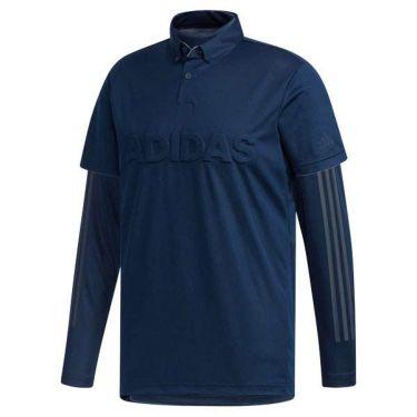 アディダス adidas メンズ 立体ロゴ 半袖 ボタンダウン ポロシャツ & 長袖 ハイネック インナーシャツ FYO93 2019年モデル 商品詳細4