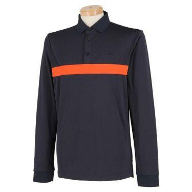 Jリンドバーグ J.LINDEBERG メンズ カラーブロック 長袖 ポロシャツ 071-21910 2019年モデル 商品詳細2