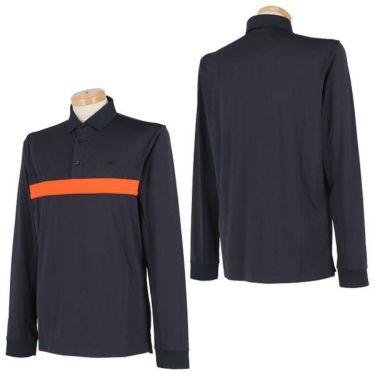 Jリンドバーグ J.LINDEBERG メンズ カラーブロック 長袖 ポロシャツ 071-21910 2019年モデル 商品詳細4
