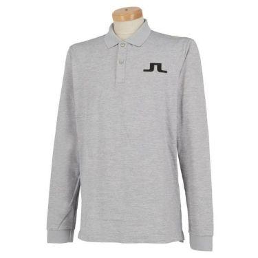 Jリンドバーグ J.LINDEBERG メンズ ロゴプリント 長袖 ポロシャツ 071-21915 2019年モデル 商品詳細2