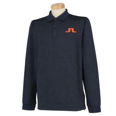 Jリンドバーグ J.LINDEBERG メンズ ロゴプリント 長袖 ポロシャツ 071-21915 2019年モデル 商品詳細3
