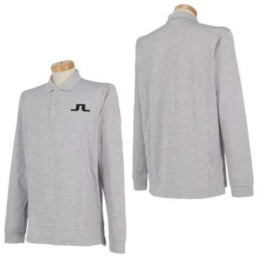 Jリンドバーグ J.LINDEBERG メンズ ロゴプリント 長袖 ポロシャツ 071-21915 2019年モデル 商品詳細5