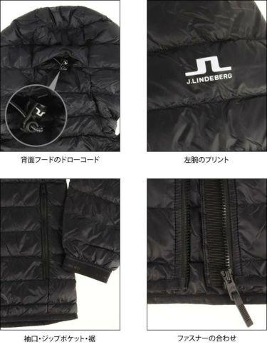 Jリンドバーグ J.LINDEBERG メンズ 長袖 フード付き ライトダウン ジャケット 071-51013 2019年モデル 商品詳細5