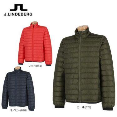 Jリンドバーグ J.LINDEBERG メンズ ロゴプリント 長袖 ライトダウン ジャケット 071-51014 2019年モデル