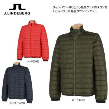 Jリンドバーグ J.LINDEBERG メンズ ロゴプリント 長袖 ライトダウン ジャケット 071-51014 2019年モデル 商品詳細5