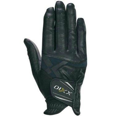 ダンロップ ゼクシオ XXIO メンズ 快適フィット 右手用 ゴルフグローブ GGG-X013R BK ブラック