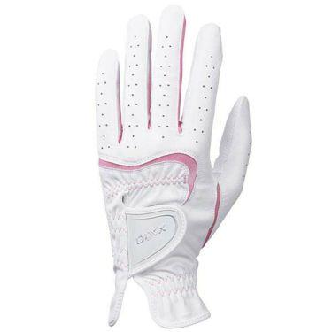 ダンロップ ゼクシオ XXIO レディース しっかりグリップ ゴルフグローブ GGG-X016W WH/PK ホワイト×ピンク